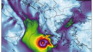 Нов ураган заплашва Гърция – ще достигне ли и България?